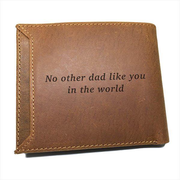 custom print wallet back engraved